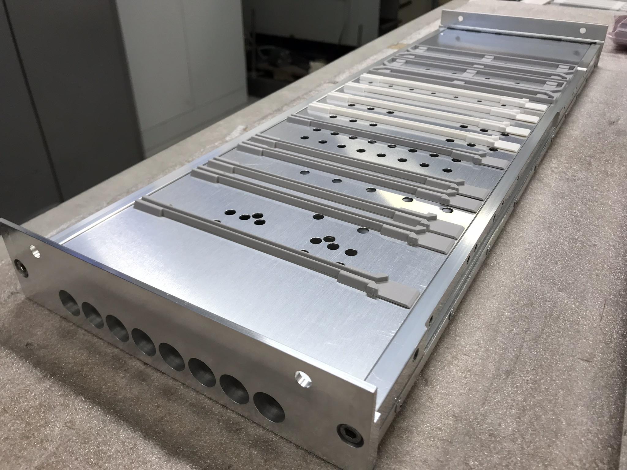 Luftkanaler för kylning av elektronik